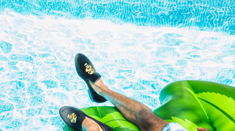 Snoop Dogg launches 'pool to party' footwear collection