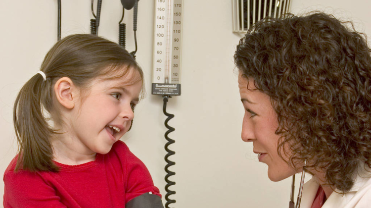 Overweight children have greater risk of high blood pressure
