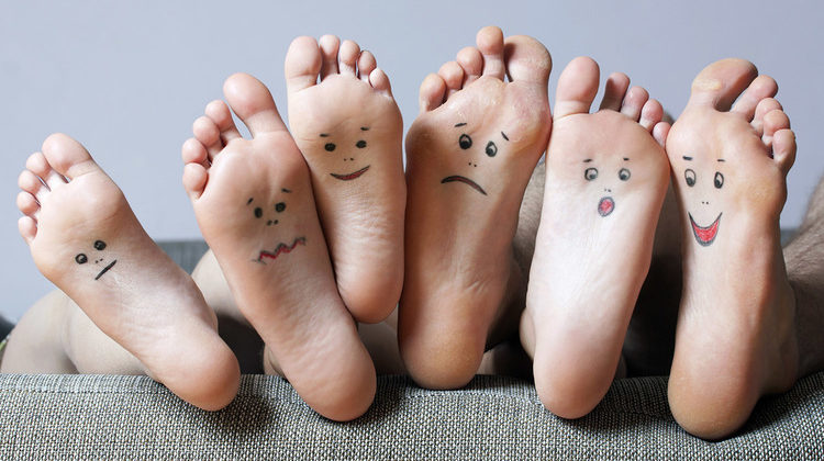 Easiest ways to take care of your feet